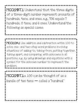 Second Grade Common Core - Teacher Version