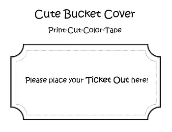Ticket Out 2nd Grade Math Common Core Assessment for Add. and Sub. B&W Version