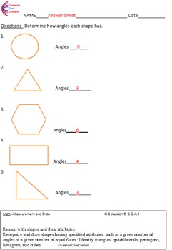 second grade common core math worksheets geometry 2 g a 1 2 g a 2 2 g a 3. Black Bedroom Furniture Sets. Home Design Ideas