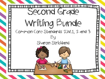 Second Grade Common Core Writing Bundle- One Year of Writing!
