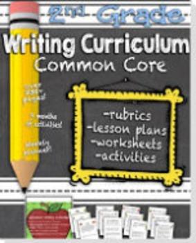 Second Grade Common Core Writing Curriculum