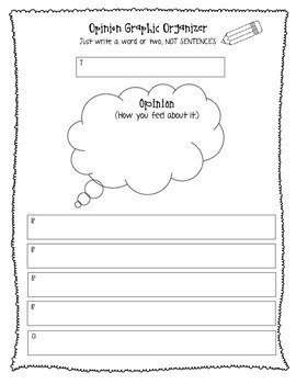 Second Grade Graphic Organizers & Rough Drafts