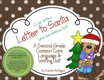 Second Grade Common Core Writing: Letters to Santa