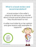 Second Grade Common Core Writing: Opinion Pieces