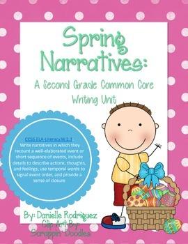 Second Grade Common Core Writing: Spring Narratives