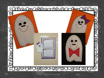 Second Grade Common Core Writing for October with Crafts