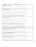 Second Grade Comprehension Graphic - 1st Quarter