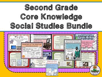 Second Grade Core Knowledge Social Studies BUNDLE