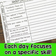 Second Grade Daily Language Fix for May