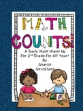 Second Grade Common Core Math- Daily Math Warm Ups