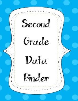 Second Grade Data Binder Label
