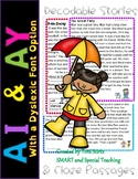 AI and AY Second Grade Decodable Stories Level 2 Unit 10