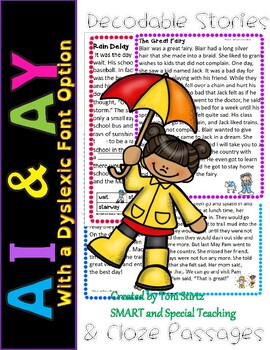 AI and AY decodable stories Intervention RTI Level 2 Unit 10