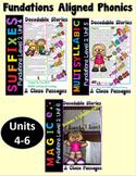 Level 2 Units 4-6 Second Grade Decodable Stories Bundle