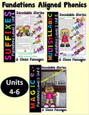 Level 2 Units 4-6 Second Grade Decodable Stories Bundle