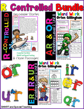 R-Controlled Vowels Second Grade Decodable Stories Level 2 Units 8 & 9