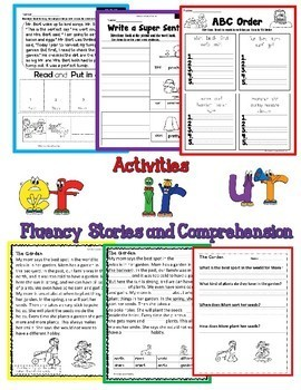 R-Controlled Vowels Second Grade Decodable Stories Level 2 Units 8 & 9 RTI