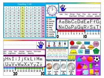 Second Grade Desk Plate / Nametag