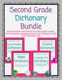 Second Grade Dictionary Bundle