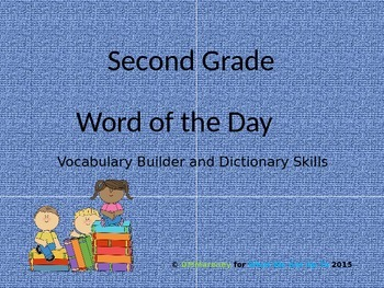 Second Grade Word of the Day