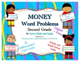 Second Grade Differentiated Money Word Problems - Digital  2.MD.C.8