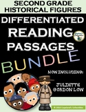 Second Grade Differentiated Reading Passages & Comprehension Activities