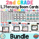 Second Grade Boom Cards Bundle Distance Learning for Digit