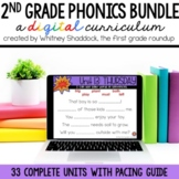 Second Grade Phonics Digital Curriculum MEGA BUNDLE