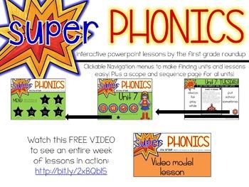 Second Grade Digital Phonics Unit 11 on the ER Sound Spelling Pattern