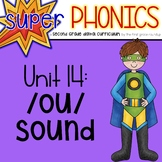 Second Grade Digital Phonics Unit 14 on the OU Sound Spelling Pattern