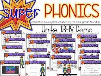 Second Grade Digital Phonics Unit 16 on the Short OO Sound Spelling Pattern