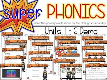 Second Grade Digital Phonics Unit 6 on Long o Digraphs