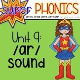 Second Grade Digital Phonics Unit 9 on the AR Sound Spelling Patterns