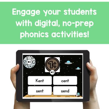 Second Grade Digital Phonics Yearlong *GROWING* Bundle | BOOM Cards™