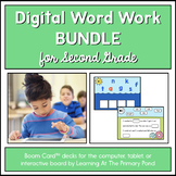Second Grade Phonics - Yearlong Digital Bundle | BOOM Cards™