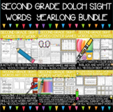 Dolch Second Grade Sight Words Year-Long Activity Bundle