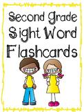 Second Grade Sight Word Flashcards