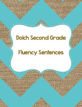 Second Grade Dolch QR Code Sentences (fluency & accuracy)