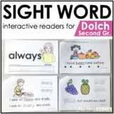 Second Grade Dolch Sight Word Books | Printable Dolch Sigh