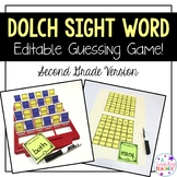 Second Grade Dolch Sight Word Guessing Game!