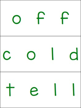 Second Grade Dolch Sight Word Puzzles