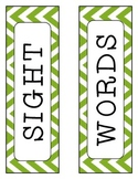Second Grade Dolch Sight Words