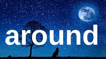 Second Grade Dolch Sight Words Powerpoint - Night Sky