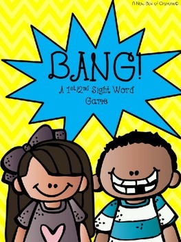 Second Grade Dolch Sight word Game BANG!-