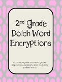 Second Grade Dolch Word Encryption Fun!