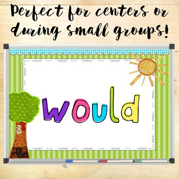 Second Grade Dolch Words - Sight Word Hunt PowerPoint Game