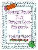 Second Grade ELA Common Core Standards and Checklists