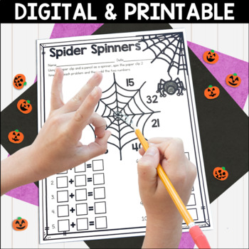 Halloween Literacy and Math No Prep Mini Unit for Second Grade