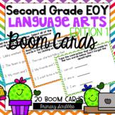 Second Grade (EOY) Language Arts Review BOOM Digital Task