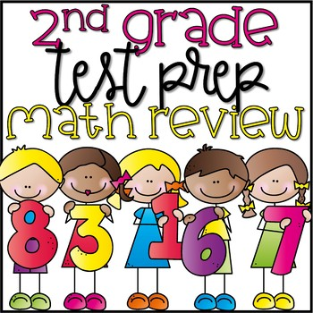Second Grade End of Year Math Review Pack